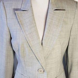 Express design studio gray blazer